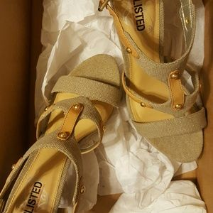 Unlisted Canvas Sandal